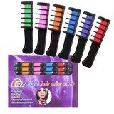Mascara van de Kleur van de Dames van de Meisjes van de veelkleurige Vrouwen van de Kam van het Haar van de Kleurstof de Magische Tijdelijke