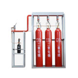 Sistema do competidor do extintor de incêndio do CO2 do equipamento 70L da luta contra o incêndio do mercado