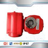 Válvula de mariposa eléctrica del control de flujo de la válvula del agua del actuador