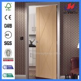Самомоднейшая карманная деревянная полная дверь (JHK-FC02)