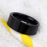 De Hete Manier van uitstekende kwaliteit van de Juwelen van de Verkoop belt de Zwarte Ringen van het Wolfram
