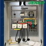 На стоящем автомобиле системы охлаждения ветра прямое соединение подключенных винтовой компрессор высокого давления