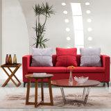 Blocco per grafici diretto dell'acciaio inossidabile di offerta della fabbrica del tessuto di svago della disposizione dei posti a sedere blu cinese del sofà
