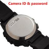 Buit-16GB HD 720p WiFi P2p IP-Uhr-Kamera-im versteckten Uhr-Mininocken