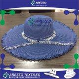 Sombrero de papel de la playa de la paja de las mujeres (AZ018B)