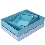 Caja de regalo papel plegado/Embalaje/caja de cartón ondulado/Joyero