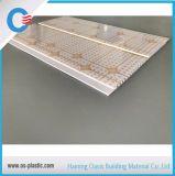 los paneles de pared del PVC de la impresión del surco de 200*5m m para la decoración imputrescible del techo