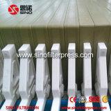 Filtre-presse hydraulique de membrane de contrôle de programme avec le filtrat ouvert
