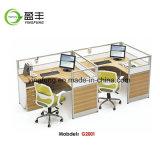 현대 가구 컴퓨터 테이블 알루미늄 사무실 워크 스테이션 Yf-G2005