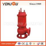 La automatización, Non-Clogging Yonjou, alta eficiencia de la bomba sumergible de aguas residuales