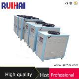 Capacidade refrigerando de refrigeração ar 9374kcal/H do refrigerador 10.9kw/3ton da alta qualidade 4HP para o laboratório que processa o refrigerador industrial do campo