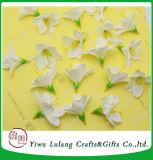 De Narcissen van de Zijde van de simulatie bloeien Huwelijk DIY van de Orchidee van Hoofden het Kunstmatige