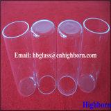 A resistência ao calor Tubos de vidro de sílica clara abobadadas