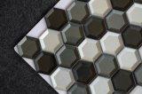 Het nieuwe Hexagon Mozaïek van het Glas van de Muur van de Tegel van 2 Duim Decoratieve
