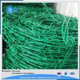 電流を通され、PVC上塗を施してある有刺鉄線(専門にされた製造業者)