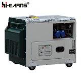 공냉식 침묵하는 유형 단 하나 실린더 디젤 엔진 발전기 단일 위상 (DG4500SE)