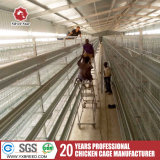 Las jaulas en batería para la carne de pollo