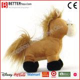 En71 vulde het Zachte Dierlijke Stuk speelgoed van de Pluche Paard voor het Spel van Jonge geitjes/van Kinderen