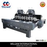 Машина маршрутизатора CNC Woodworking цилиндра с 8 Rotaries (VCT-3230FR-2Z-10H)