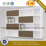 Clássico em madeira de cerejeiraarmário do perfil de alumínio personalizadas (HX-5NF055)