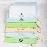 Выдвиженческие полотенца гостиницы/домашних хлопка пляжа 100%/ванны/стороны/руки с логосом Embroideried
