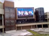 Schermo di visualizzazione di pubblicità fissato al muro esterno del LED di P16mm