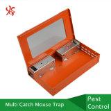 Служба борьбы с грызунами и паразитами оборудует гуманную Multi ловушку крысы мышей мыши задвижки