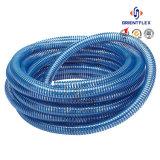 Hélice en plastique PVC flexible de printemps pour l'eau/huile/poudre/chimique