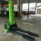 Montacargas eléctrico portátil de carga eléctrica de elevación automática de palets carretilla apiladora/