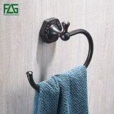 Boucle d'essuie-main en laiton plaquée par bronze frottée par pétrole de salle de bains de Flg