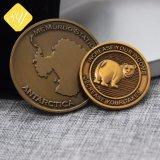 공장 가격 주문 기념품 선물은 주물 3D 동전을 정지한다