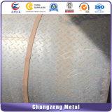 Los materiales de construcción A36 a cuadros la placa con el MTC
