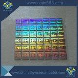 Het Stempelen van de douane het Hete Gebruik van de Sticker van het Hologram voor Stof