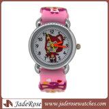 Cartoon crianças' Watch engraçado relógio Fashion Meninas meninos filhos Silicone Quarts Relógios Relógio de desporto estudantil Dom