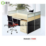 현대 나무로 되는 사무용 가구 모듈 사무실 책상 Yf-G0201