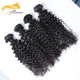 Alimina 100 выдвижений человеческих волос девственницы Remy индийских всех