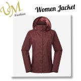 As mulheres personalizado de produção revestimento exterior à prova de casaco de Inverno