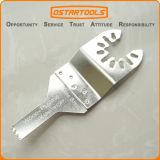 la herramienta multi estándar oscilante del acero inoxidable de 10m m (3/8 '') vio la lámina