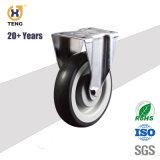Büro-Stuhl-Höhen-justierbare Schrauben-Fußrollen mit Bremse