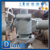 Válvula de puerta de Didtek Wcb con el actuador eléctrico