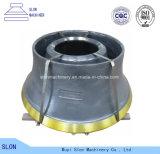 Hohe Mangan-Stahl-Kegel-Zerkleinerungsmaschine-Teile für Sandvik CS680