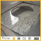 De natuurlijke Bovenkant van de Ijdelheid van de Steen van het Marmer/van het Graniet/van het Kwarts voor Badkamers