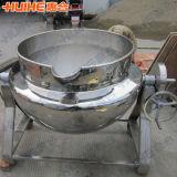 Grands viande/potage faisant cuire la bouilloire de jupe