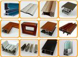 La nouvelle technologie du grain du bois pour la Fenêtre de profil en aluminium de transfert