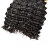 I capelli brasiliani dell'onda profonda tessono 4 parti di Non-Remy dei capelli umani dei capelli