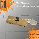 Tür-Zubehör-Nut-Verschluss-Zylinder mit Drehknopf