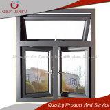 El metal barato del diseño abreviado de aluminio escoge la ventana esmaltada del marco