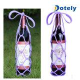 Supports anti-caloriques de transporteur de bouteille de vin de silicones
