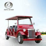 Coche de visita turístico de excursión de golf de 8 Seater del vehículo clásico eléctrico del carro