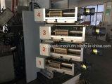 Máquina de impresión en offset plástica de la taza de cuatro colores